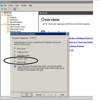 Enable Security Auditing on ADFS 3 0 Using Windows Group
